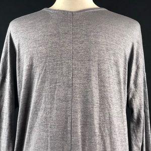 GAP Tops - Gap Gray Shimmer Tunic Top